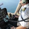 Letecký instruktor na vrtulník