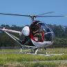 Pilot ultralehkého vrtulníku