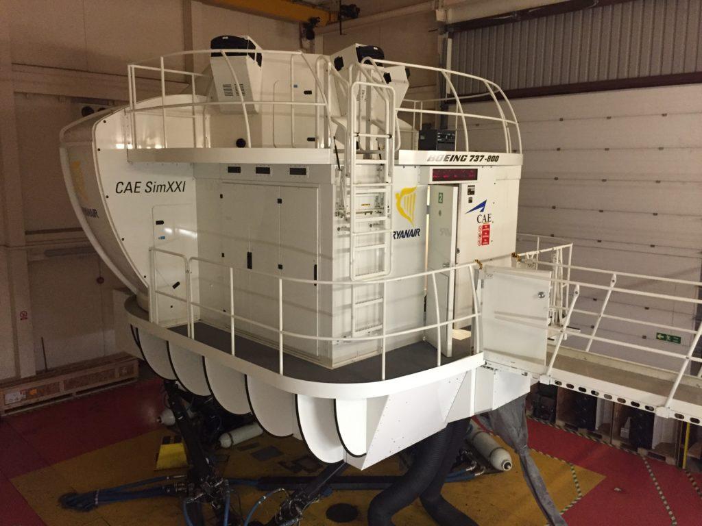Simulátor B737-800W